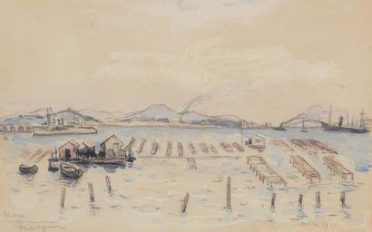Henri MANGUIN (Paris 1874 - Saint-Tropez...