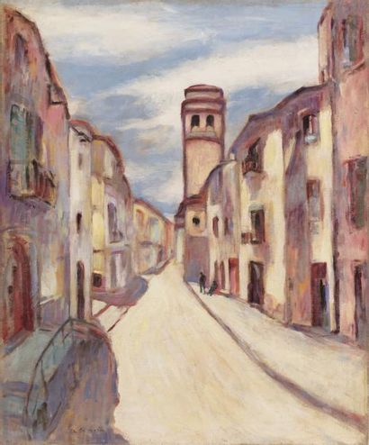 Charles CAMOIN (Marseille 1879 - Paris 1965)...
