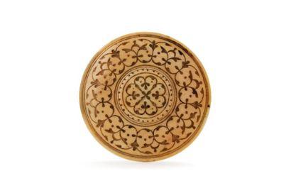 Bouton indo-portugais  de forme cylindrique,...