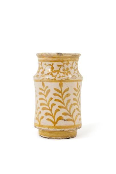 Albarello du XVIe siècle  en céramique à...