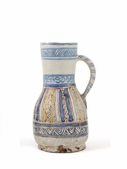 Ghorraf Pichet du 18e siècle  en céramique,...