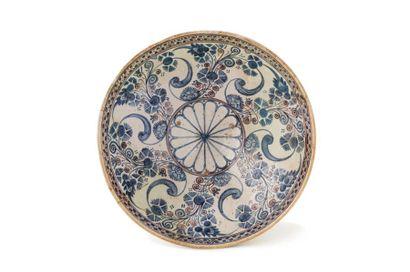 Mokhfia du 18e siècle  le fond décoré d'une...