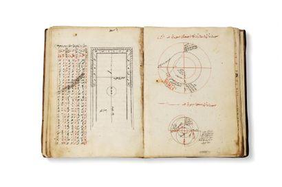 Manuel d'Astronomie  Manuscrit en arabe et...
