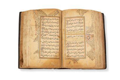 Coran moghol de la fin du XVIIIe siècle  Manuscrit...