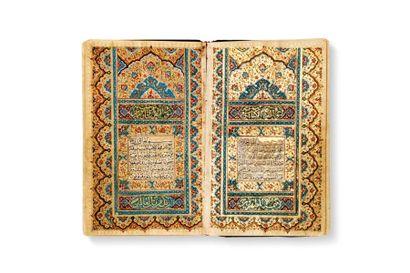 Coran Qajar daté 1215H. = 1800  Manuscrit...