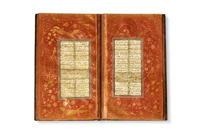 Recueil poétique safavide  Manuscrit persan...