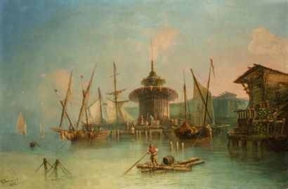 G ROMANO (Actif à la fin du XIXème siècle)...