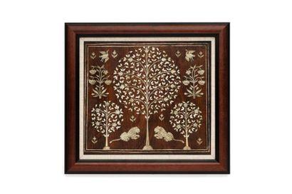 Panneau de Cabinet du Gujarat  quadrangulaire...