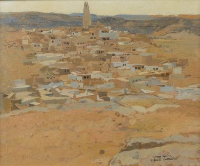 Léon CARRE (Granville 1878- Alger 1942)  ...