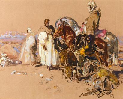 Henri ROUSSEAU (La Caire 1875 - Aix en Provence...