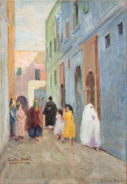 Gaston Jules Louis DUREL (1879 - 1954)  Rue...