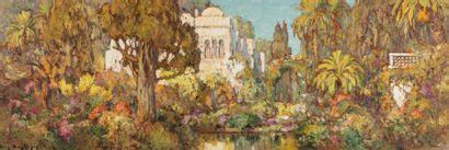 Eugène DESHAYES (Alger 1862 - 1939)  Vue...