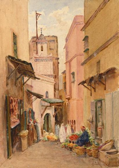 Alphonse BIRCK (Metz 1859 - Fontainebleau...