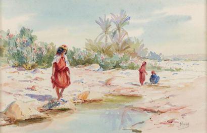 Edouard HERZIG (Neuchâtel 1860- Alger 1926)...