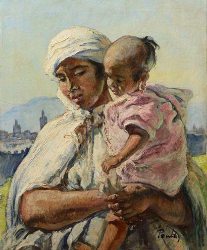 Henri Jean PONTOY (Reims 1888-1968)  Femme...