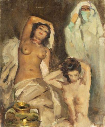 José CRUZ - HERRERA (Cadix 1890 - Casablanca...
