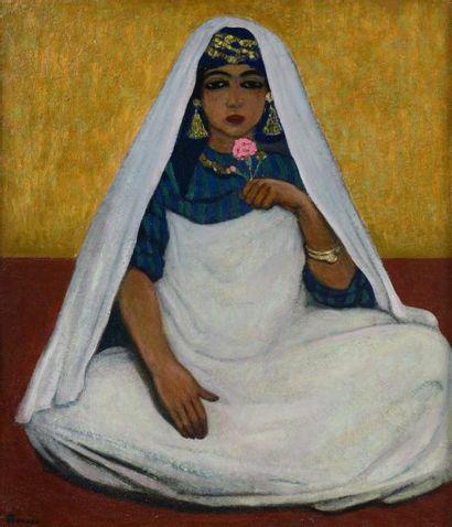 André SUREDA (Versailles 1872 - 1930)  Portrait...