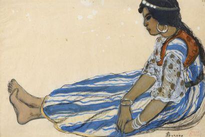 André SUREDA (Versailles 1872 - 1930)  Femme...