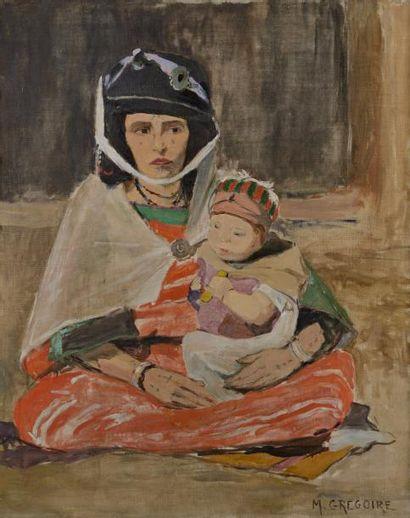 Madeleine GREGOIRE (Active au XX ème siècle)...