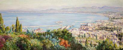 Olynthe MADRIGALI (1887 - 1950)  La baie...