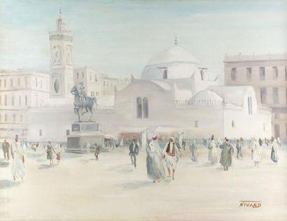 André NIVARD (Paris 1880 - 1969)  Alger,...