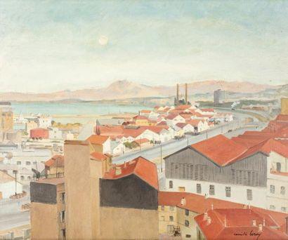 Camille LEROY (Paris 1905 - Roquebrune -Cap...