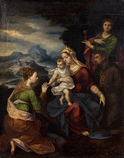Attribué à Ippolito SCARSELLINO  (1551 -...