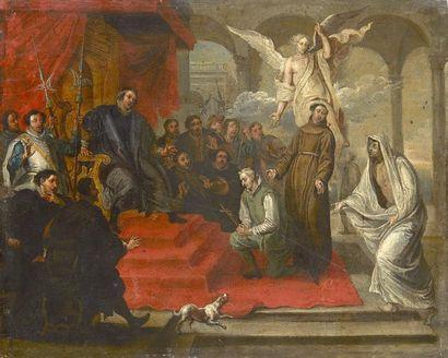 Willem van HERP  (Anvers 1614 – 1677)  Saint...