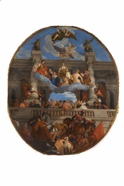 Ecole ITALIENNE du XVIIème siècle, suiveur...