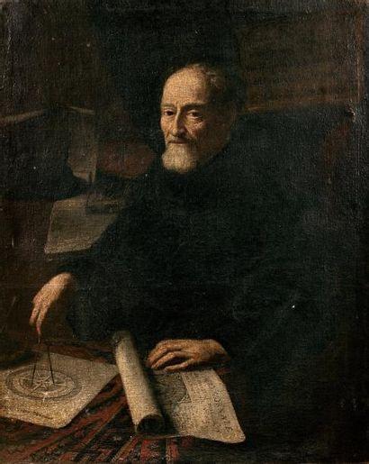 Ecole EMILIENNE du XVIIème siècle  Portrait...