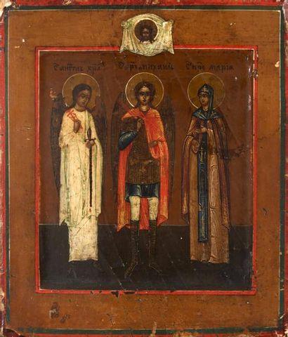 L'archange Michel entouré de l'ange Gardien...