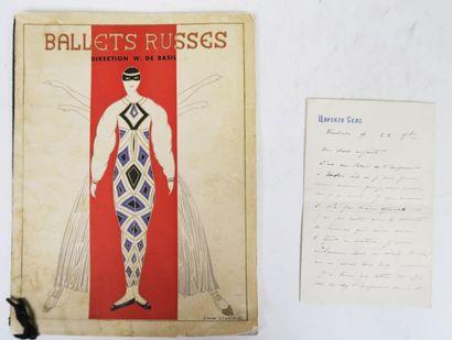 [Ballets Russes]. L.A.S. de Lémistin BROUSSAN...