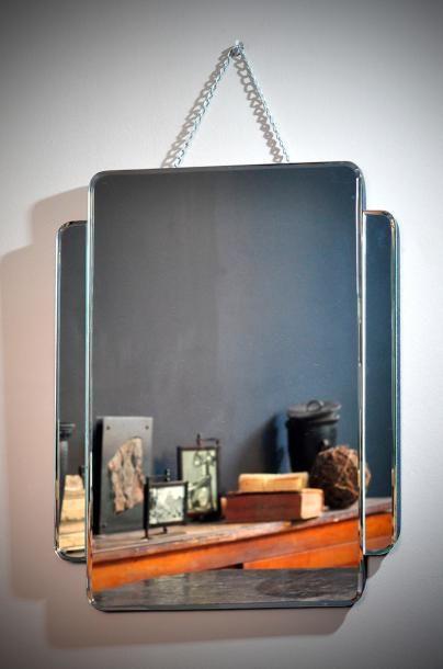 Miroir biseauté à