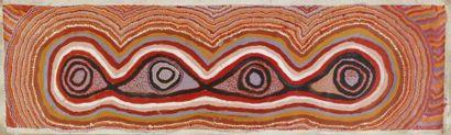 Paddy Lewis Japanangka (c. 1925 - 2011)  Sans...
