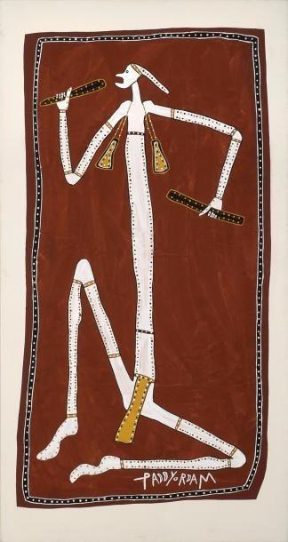 Paddy Fordham Wainburranga (c. 1930 - 2006)...