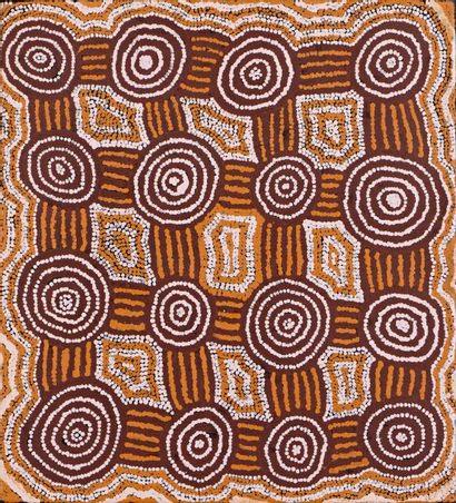 Barney Campbell Tjakamarra (1928 - 2007)...