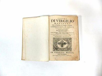 L'OPERE DI VIGILIO - MANTOANO  Cioè, la Bucolica,...