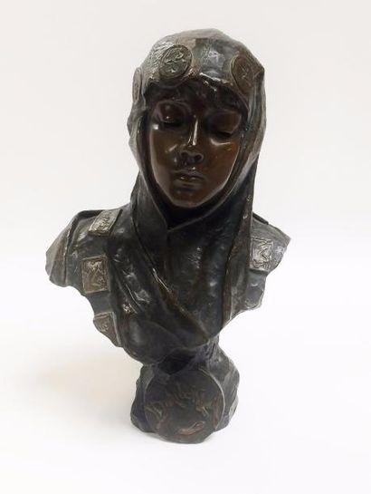Emmanuel VILLANIS (1880 - 1920)  Dalila  Sculpture...