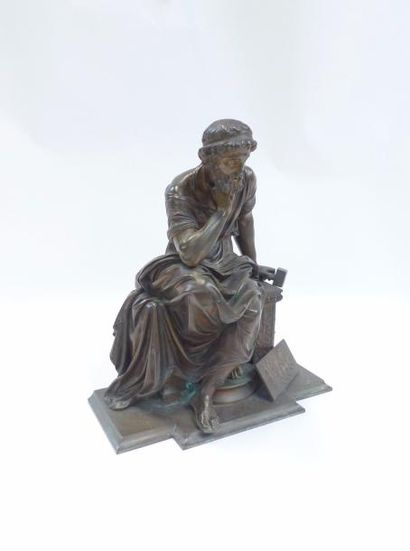 HUZEL (XIX)  Phidias contemplant son œuvre...