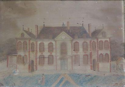Ecole FRANCAISE du XIXème siècle  Vue de...