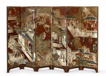 CHINE – Dynastie Qing, XIXe siècle    Petit...