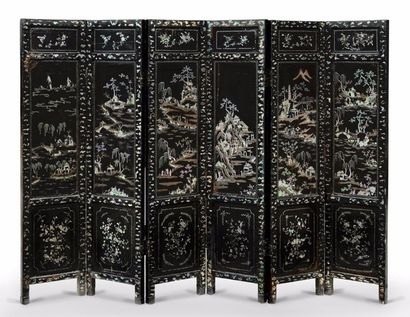 CHINE – Dynastie Qing, Epoque XVIIIème siècle,...