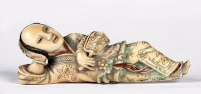 CHINE – Fin de la Dynastie Qing, Epoque XIXe...