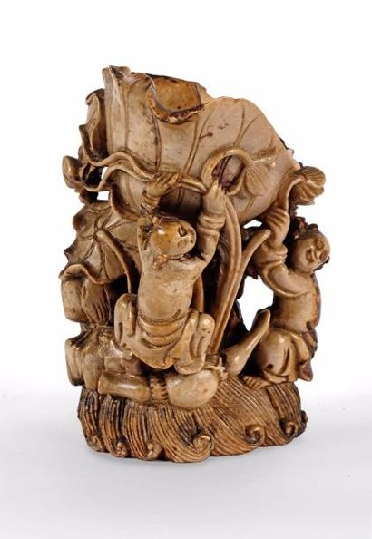CHINE – Dynastie Qing, Epoque XIXe siècle...