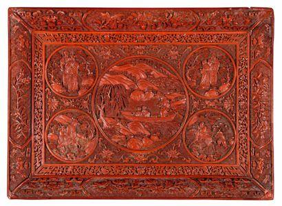 CHINE – Dynastie Qing, XIXème siècle    Grand...