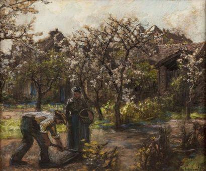 Léon LHERMITTE (Mont Saint Père 1844 - Paris...