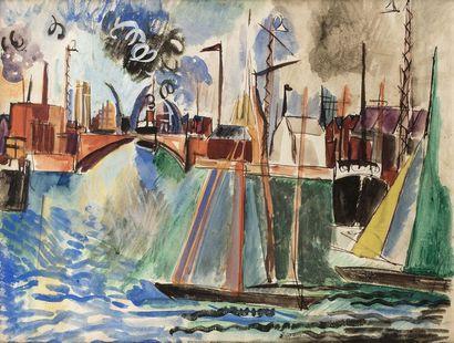 Jean DUFY (Le Havre 1888 - Boussay 1964)...