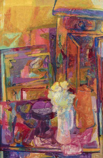 Maurice ESTEVE (Culan 1904 - 2001)  Le Bouquet...