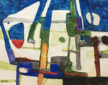 Maurice ESTEVE (Culan 1904 - 2001)  Composition...