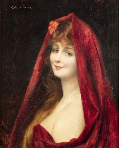 Gabriel FERRIER (Nîmes 1847 - Paris 1914)...